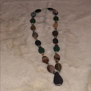Jewelry - Gorgeous bead glass bead statement necklace